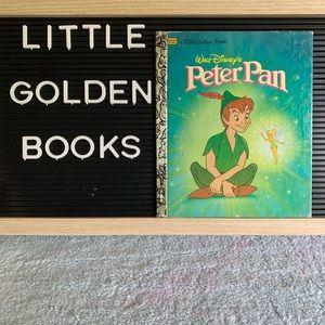 A Little Golden Book Walt Disney's Peter Pan 1996